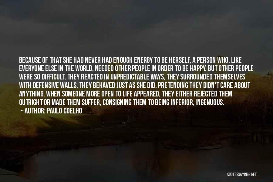 Being Happy For Someone Else Quotes By Paulo Coelho
