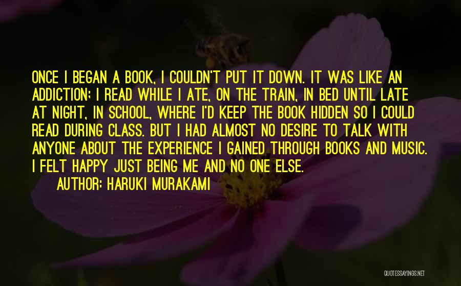 Being Happy When You Talk To Him Quotes By Haruki Murakami