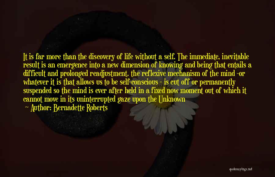 Being Held Quotes By Bernadette Roberts