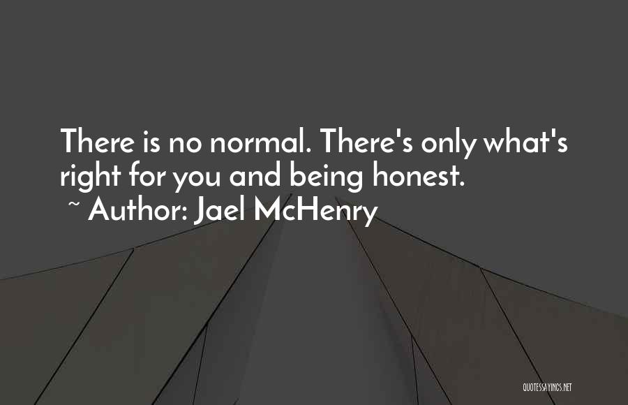 Being Honest Quotes By Jael McHenry