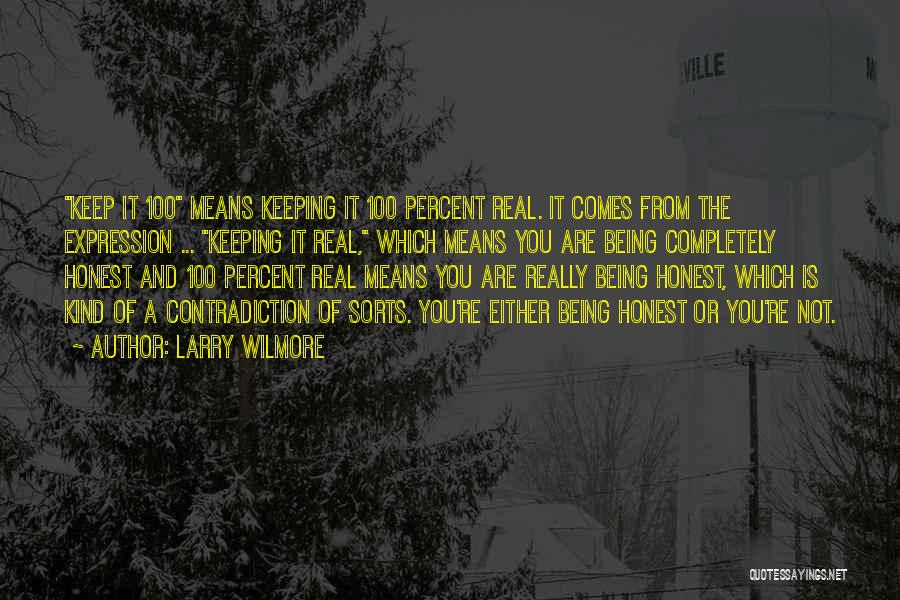 Being Honest Quotes By Larry Wilmore