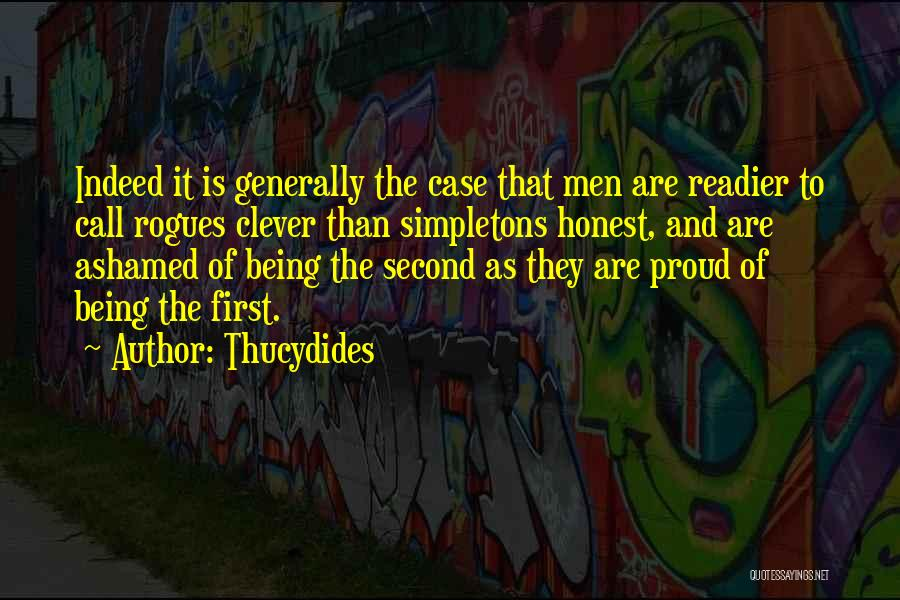 Being Honest Quotes By Thucydides