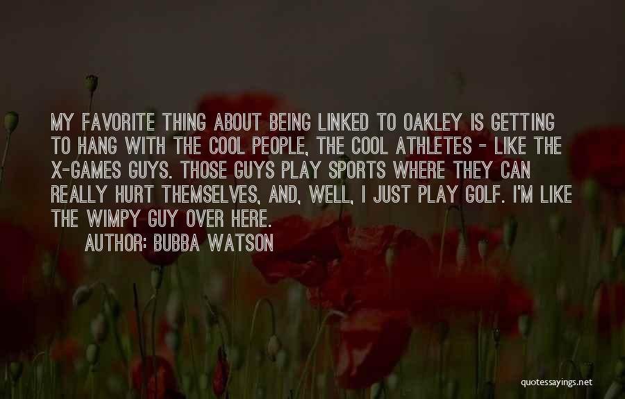 Being Hurt By Others Quotes By Bubba Watson