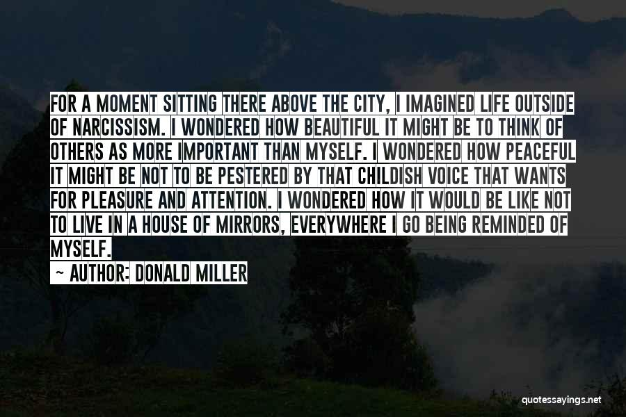 Being Important To Others Quotes By Donald Miller