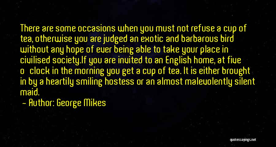 Being Judged By Society Quotes By George Mikes