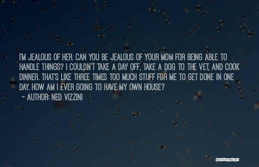 Being Like Your Mom Quotes By Ned Vizzini