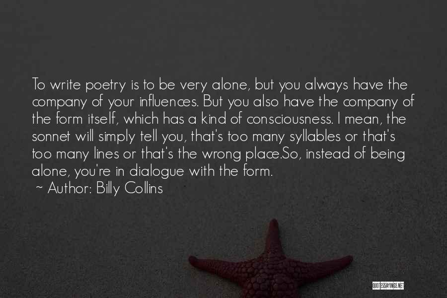 Being Mean To Your Ex Quotes By Billy Collins
