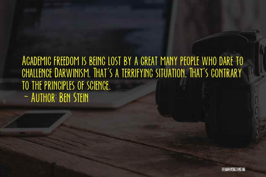 Being My Best Self Quotes By Ben Stein