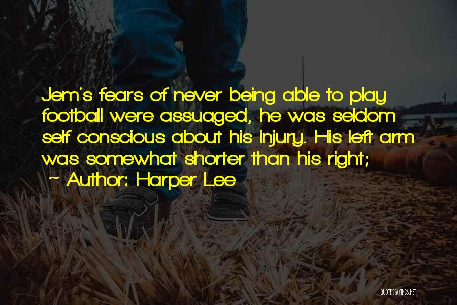 Being My Best Self Quotes By Harper Lee
