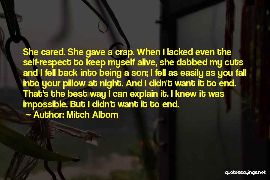 Being My Best Self Quotes By Mitch Albom