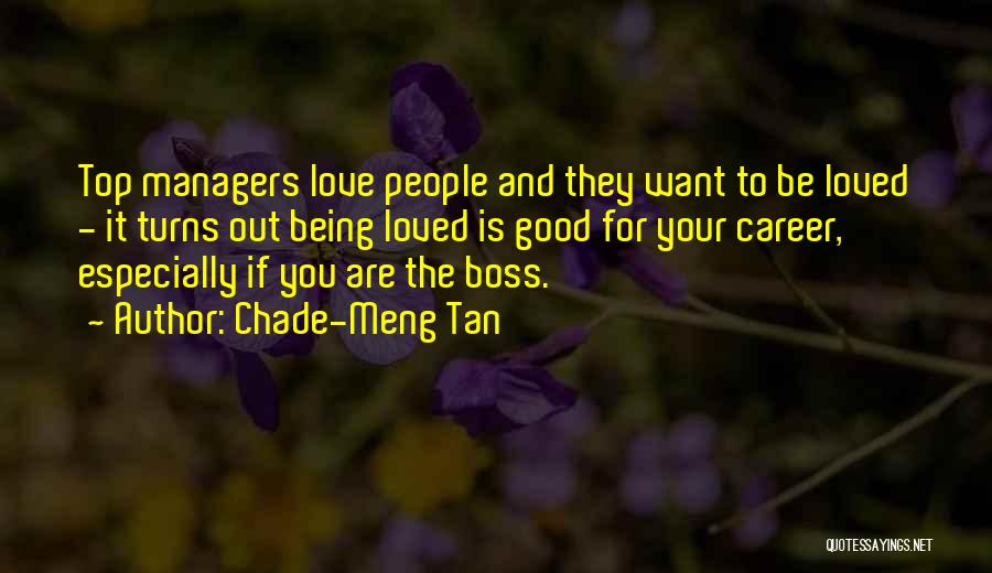 Being My Own Boss Quotes By Chade-Meng Tan