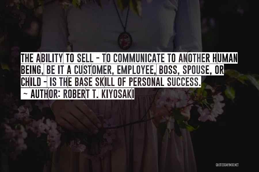Being My Own Boss Quotes By Robert T. Kiyosaki