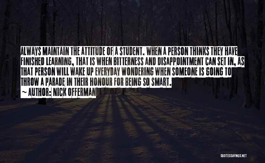 Being Myself Attitude Quotes By Nick Offerman