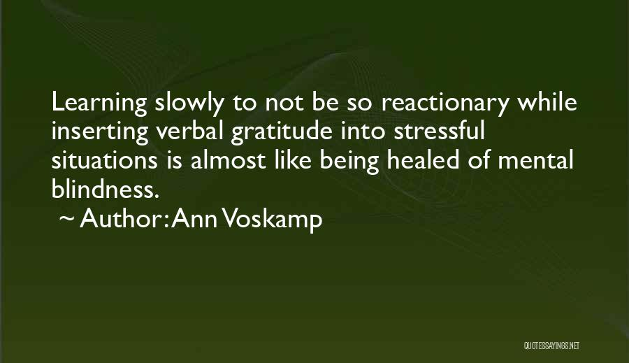Being Non Verbal Quotes By Ann Voskamp