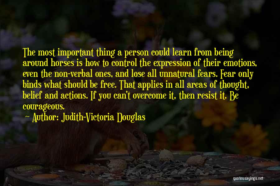Being Non Verbal Quotes By Judith-Victoria Douglas