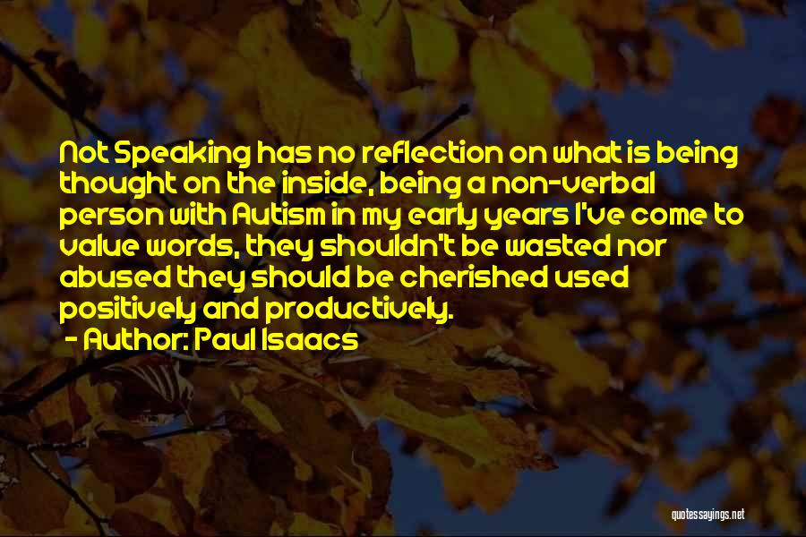 Being Non Verbal Quotes By Paul Isaacs