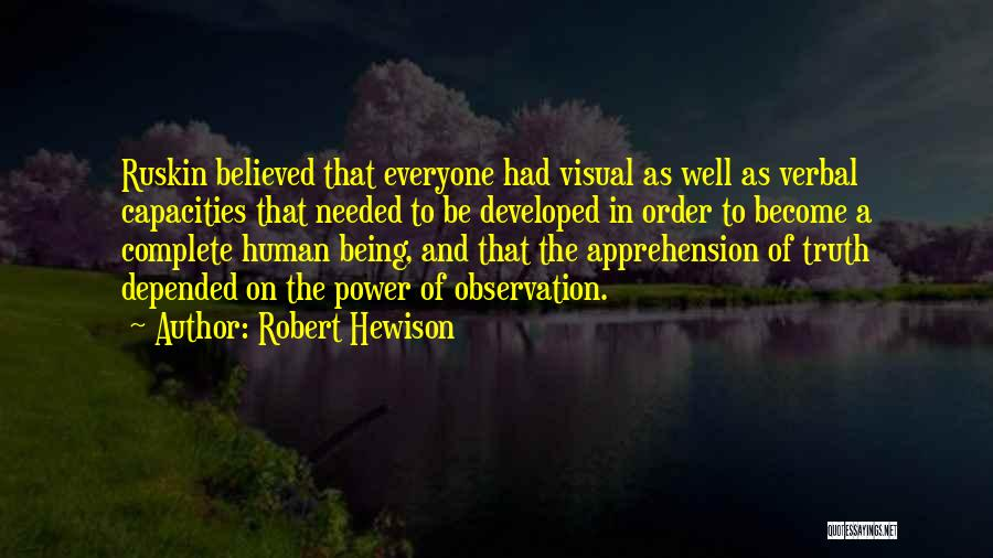 Being Non Verbal Quotes By Robert Hewison