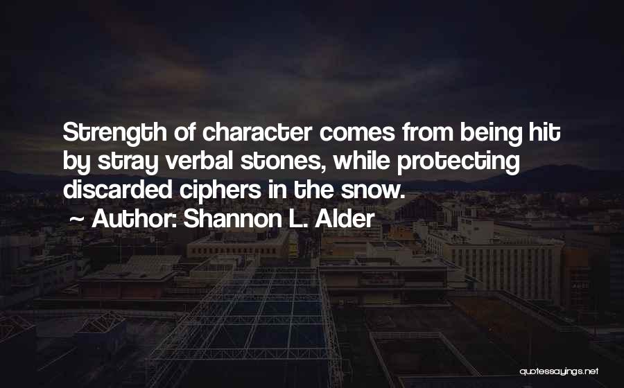 Being Non Verbal Quotes By Shannon L. Alder