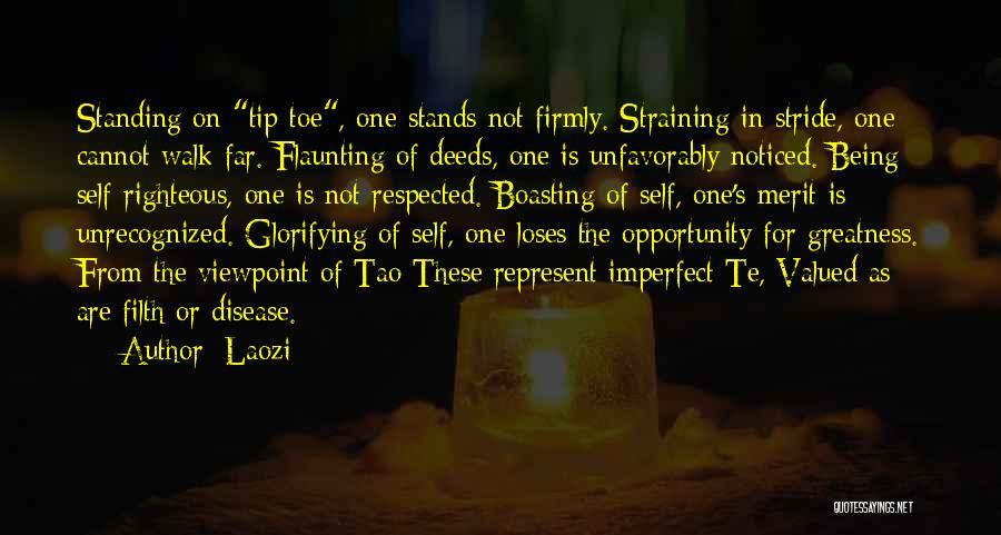 Being Noticed Quotes By Laozi