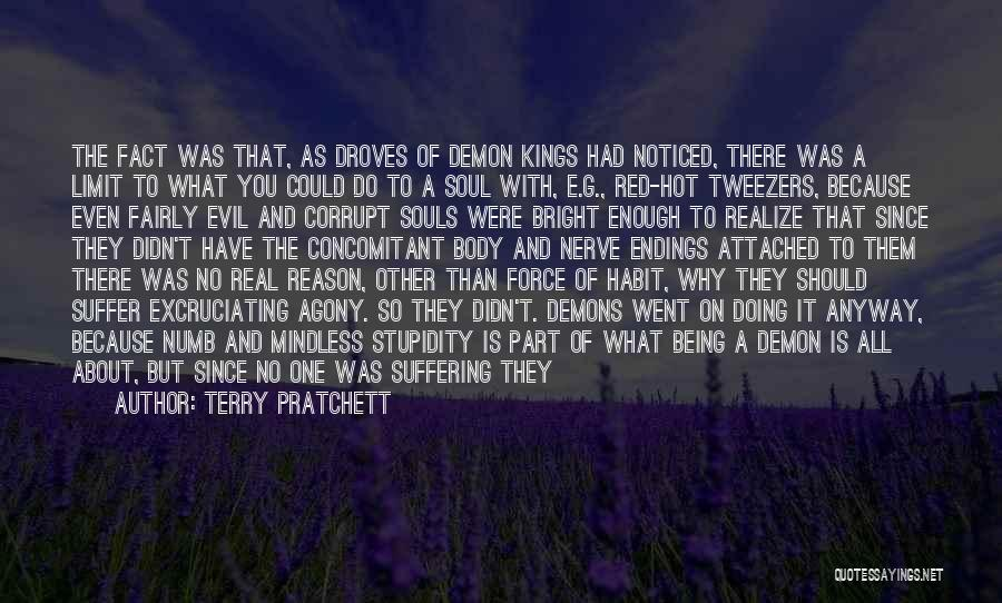 Being Noticed Quotes By Terry Pratchett