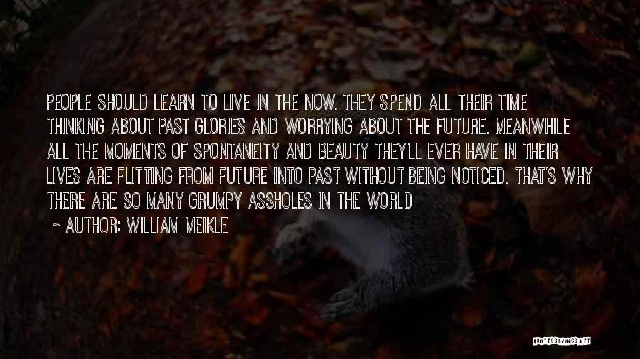 Being Noticed Quotes By William Meikle