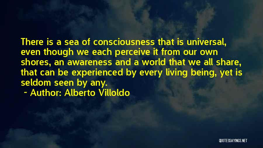 Being Out At Sea Quotes By Alberto Villoldo