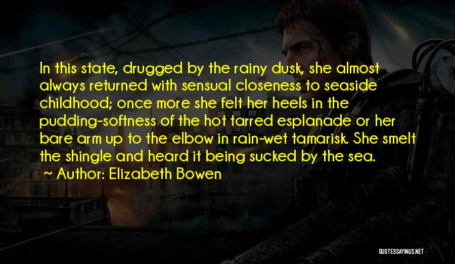Being Out At Sea Quotes By Elizabeth Bowen