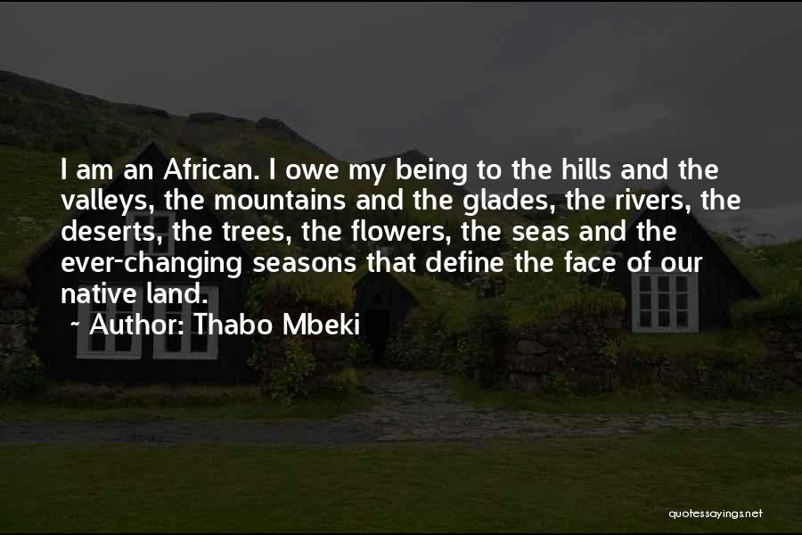 Being Out At Sea Quotes By Thabo Mbeki