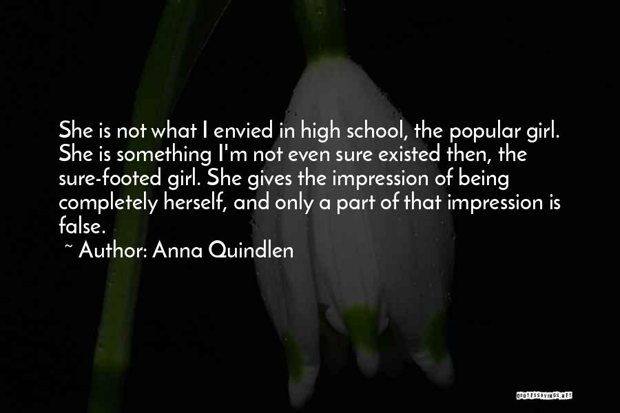 Being Part Of Something Quotes By Anna Quindlen
