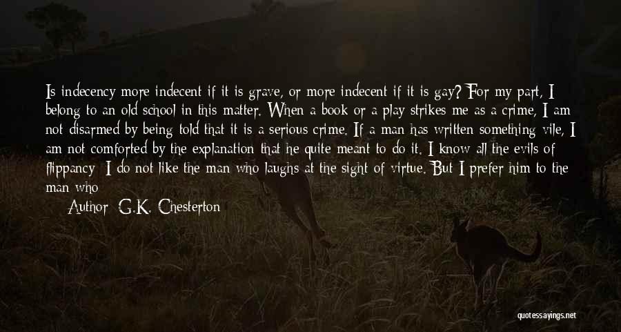 Being Part Of Something Quotes By G.K. Chesterton