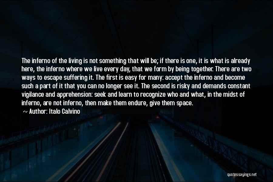 Being Part Of Something Quotes By Italo Calvino