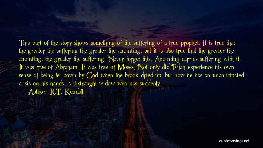 Being Part Of Something Quotes By R.T. Kendall