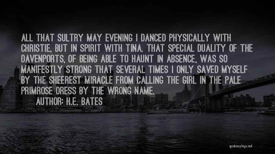 Being Physically Strong Quotes By H.E. Bates