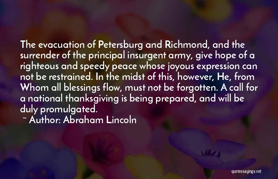Being Prepared Quotes By Abraham Lincoln