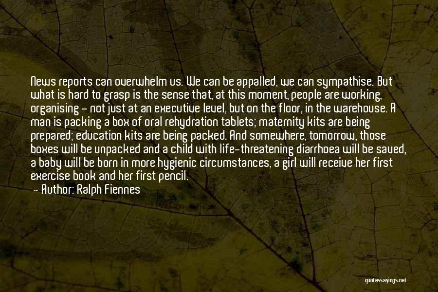 Being Prepared Quotes By Ralph Fiennes