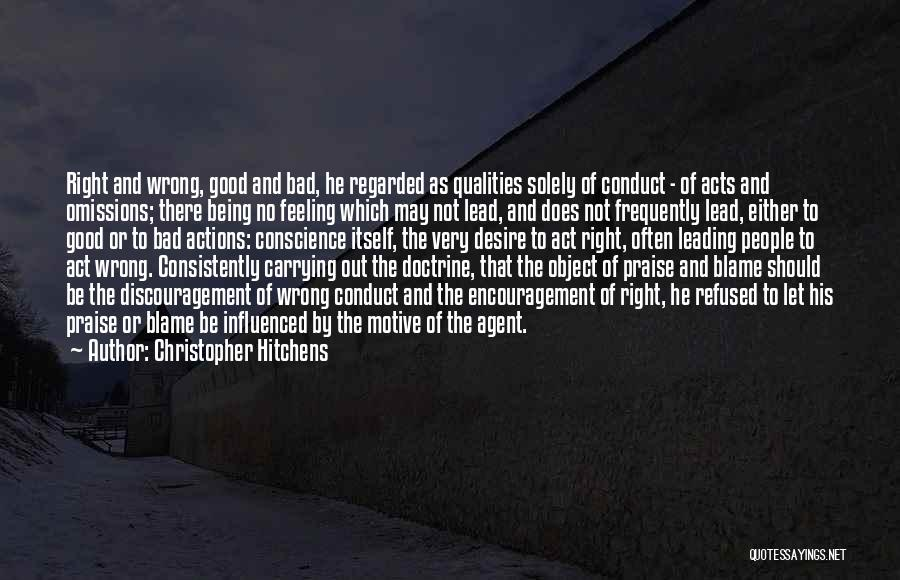 Being Refused Quotes By Christopher Hitchens