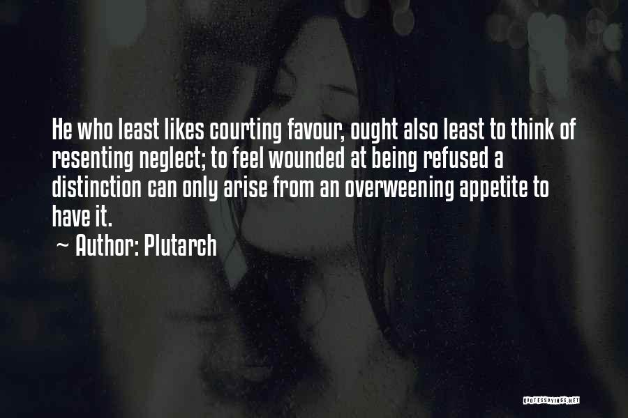 Being Refused Quotes By Plutarch