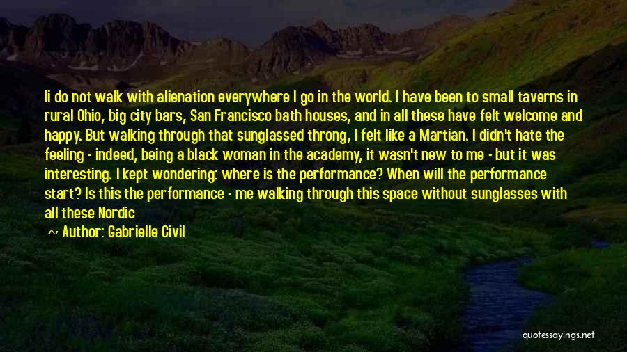 Being Small In A Big World Quotes By Gabrielle Civil