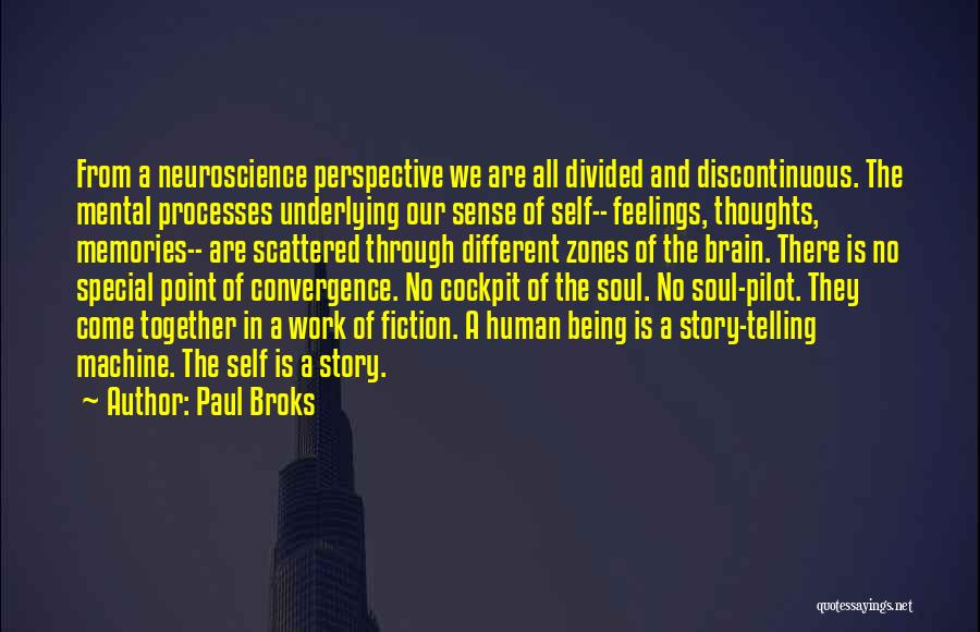 Being Special And Different Quotes By Paul Broks