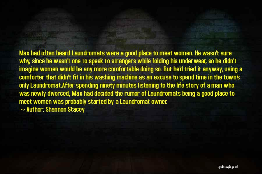 Being Strangers Quotes By Shannon Stacey
