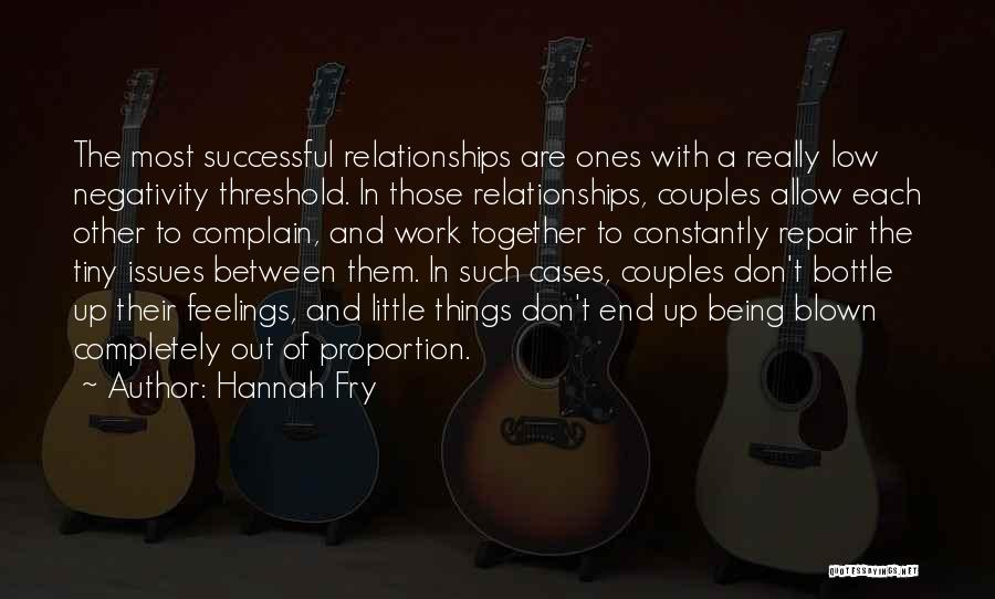 Being Successful Together Quotes By Hannah Fry