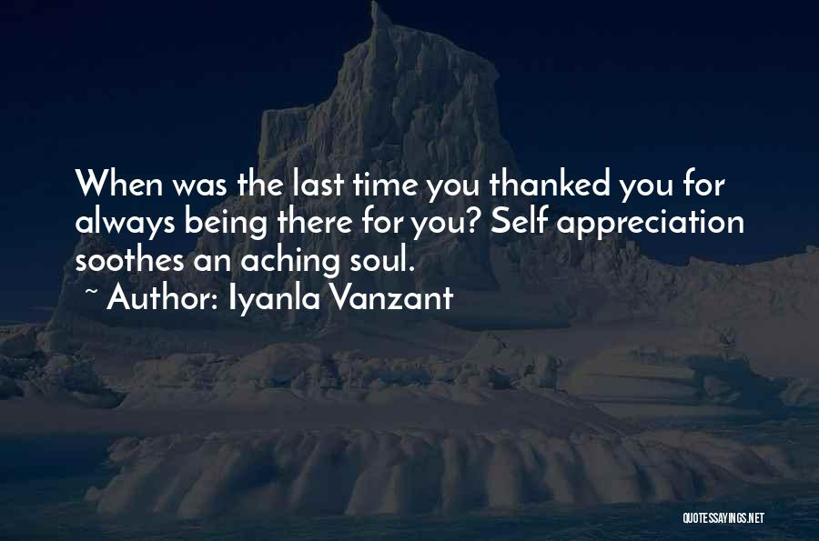 Being Thanked Quotes By Iyanla Vanzant