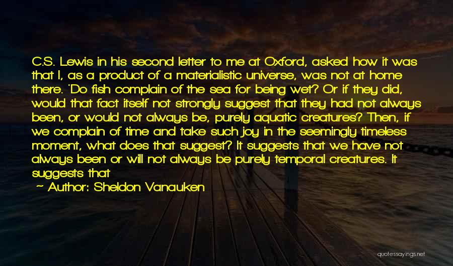 Being Unable To Cry Quotes By Sheldon Vanauken