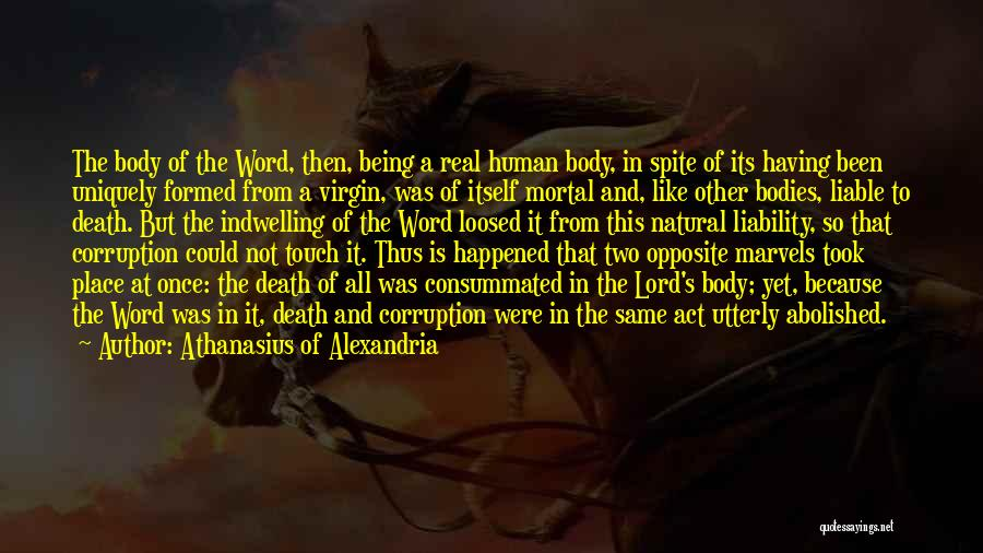 Being Uniquely You Quotes By Athanasius Of Alexandria