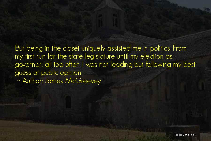 Being Uniquely You Quotes By James McGreevey