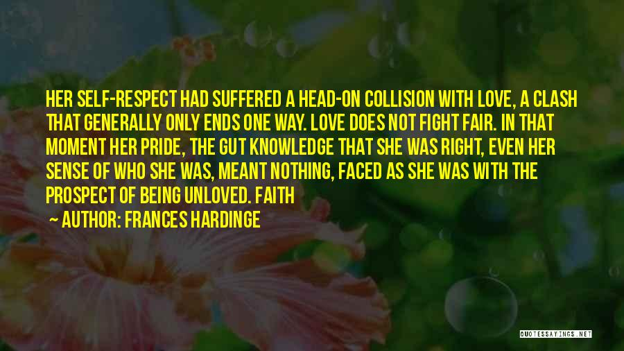 Being Unloved Quotes By Frances Hardinge