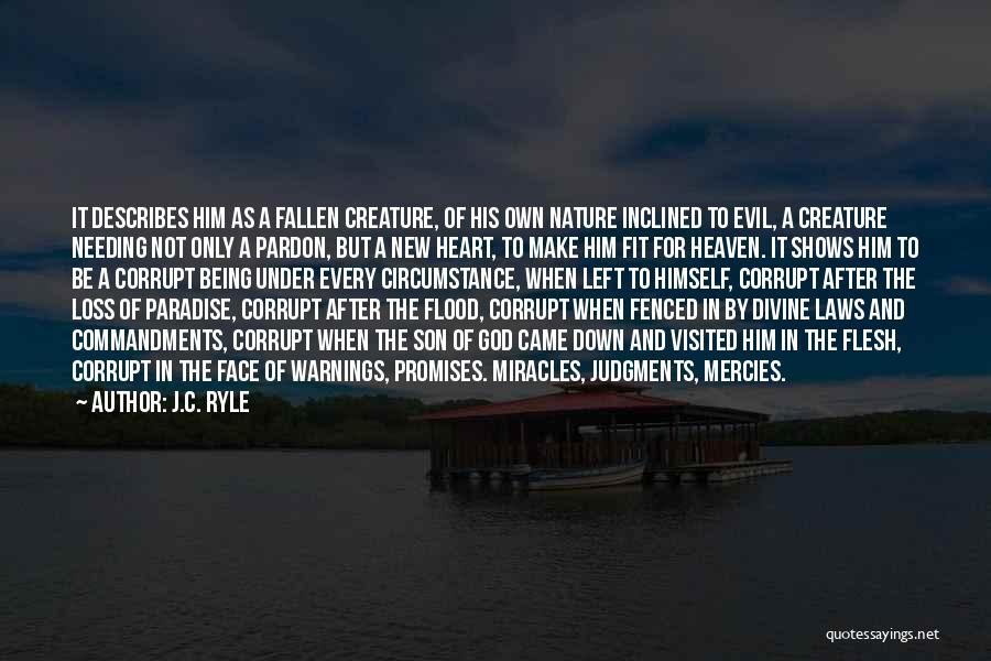 Being Visited Quotes By J.C. Ryle