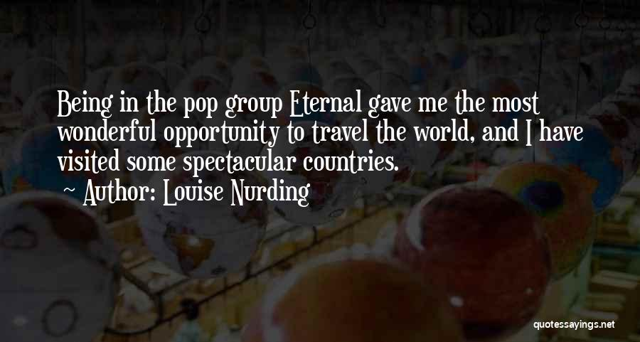 Being Visited Quotes By Louise Nurding