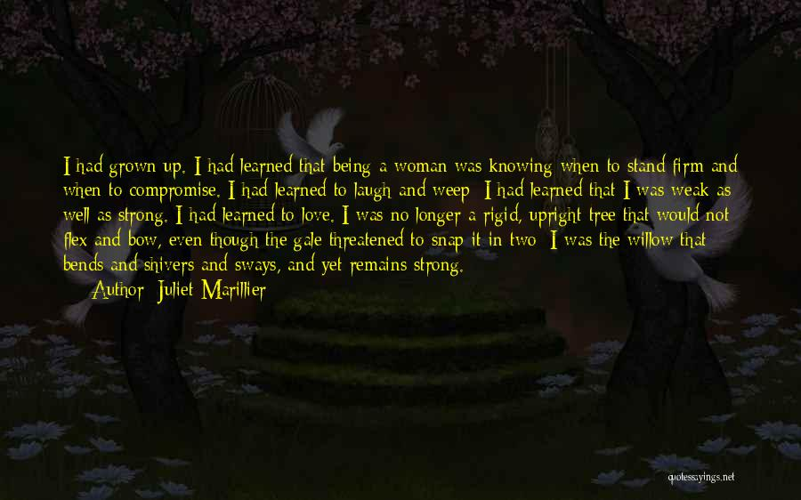 Being Weak By Love Quotes By Juliet Marillier