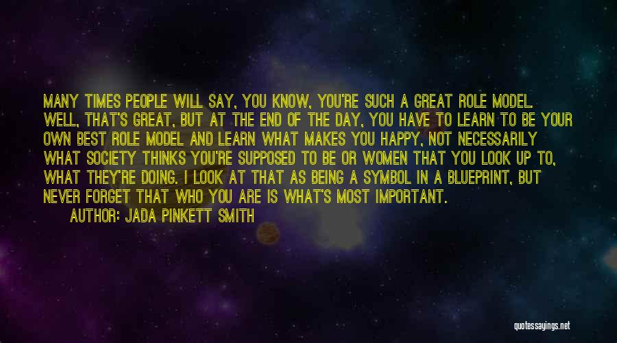 Being Where You Are Supposed To Be Quotes By Jada Pinkett Smith